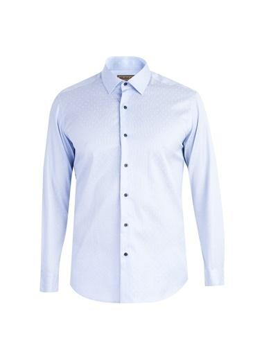 Abdullah Kiğılı Gömlek Mavi